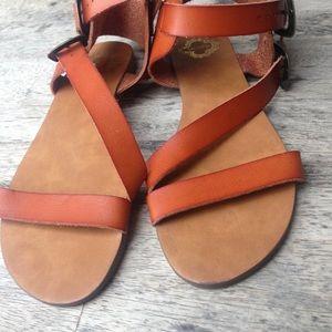 Ecote tan sandals.